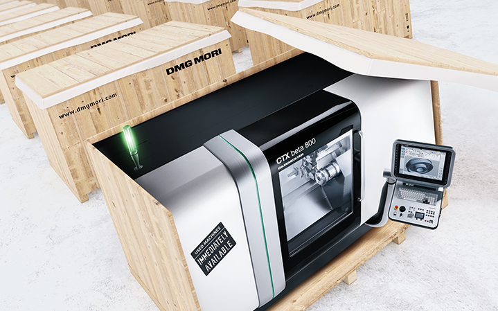 Dmg Mori Cnc Machine