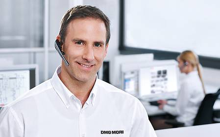 DMG MORI Service Hotline