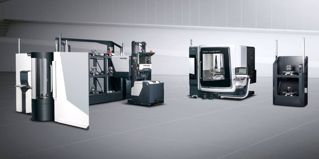 DMG MORI USA - CNC machine tools for all cutting machining